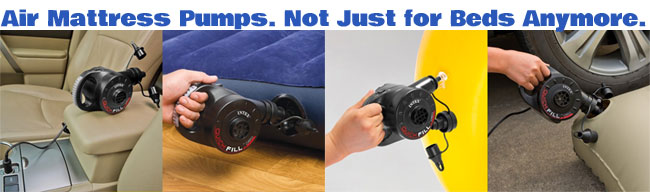 Air Mattress Pumps Have A Variety Of Uses