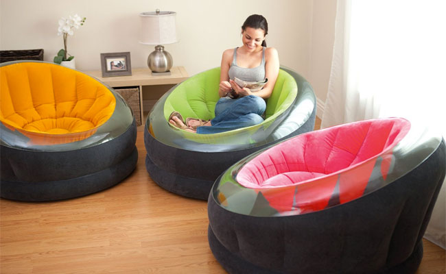 Intex Inflatable Empire Chairs Vs Bean Bags
