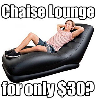 Intex Mega Inflatable Chaise Lounge