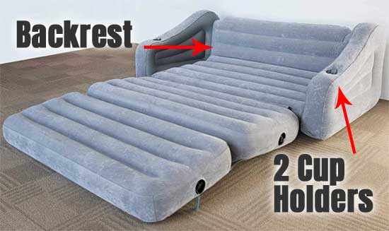 Surprising Inflatable Sleeper Sofa How It Compares To Futons Mattresses Beatyapartments Chair Design Images Beatyapartmentscom