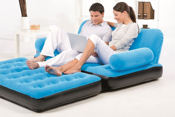 Bestway Inflatable Sofa Bed  sc 1 st  THE Inflatable Sectional Sofa! : inflatable sectional couch - Sectionals, Sofas & Couches